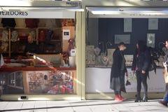 Christnas街市在塞维利亚01 免版税图库摄影