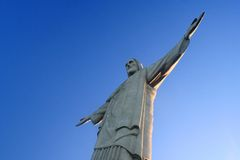 christo redentor fotografia royalty free