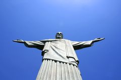Christo Statue in Rio de Janeiro Royalty Free Stock Images