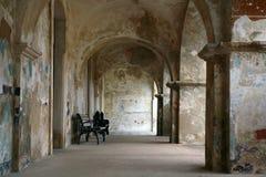 christobal форт juan старый san Стоковые Изображения RF