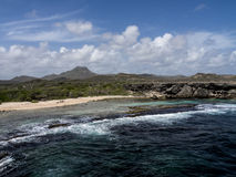 Christoffel National Park coastline. Christoffel National Park Curacao a Caribbean island in the Dutch Antilles Stock Photo