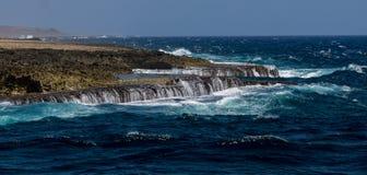 Christoffel National Park coastline Royalty Free Stock Photography
