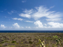 Christoffel National Park. Curacao a Caribbean island in the Dutch Antilles Stock Images