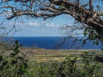 Christoffel National Park Curacao Views Royalty Free Stock Images