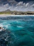 Christoffel National Park ocean Royalty Free Stock Photo