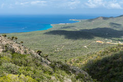 Christoffel National park. Views around Curacao a small island in the Caribbean Stock Images