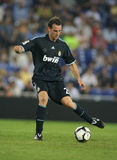 Christoph Metzelder. German player Metzelder of Real Madrid in action during a Spanish League match against Espanyol at the Estadi Cornella-El Prat on September Stock Images