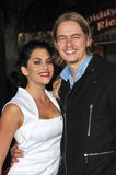 Christoph Sanders. & Inbar Lavi at the Los Angeles premiere of In Time at the Regency Village Theatre, Westwood. October 20, 2011 Los Angeles, CA Picture: Paul Stock Photography