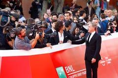 Christoph Waltz på röd matta Royaltyfri Foto