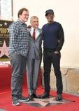 Christoph Waltz & Quentin Tarantino & Samuel L. Jackson Royalty Free Stock Photography