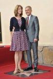 Christoph Waltz y Judith Holste Imagen de archivo