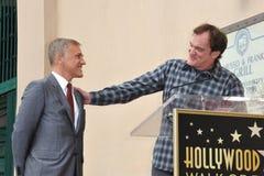 Christoph Waltz y Quentin Tarantino Imagen de archivo