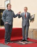 Christoph Waltz y Quentin Tarantino Fotos de archivo