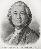 Christoph Willibald Gluck Stock Photos