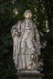 Christoph Willibald Ritter von Gluck staty, Wien, Österrike arkivbild