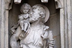 Christopher Άγιος στοκ φωτογραφία με δικαίωμα ελεύθερης χρήσης