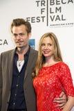 Christopher Backus and Mira Sorvino Stock Image