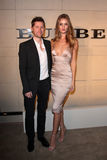 Christopher Bailey, Rosie Huntington Whiteley, Rosie Huntington-Whiteley Image stock