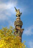 Christopher Colombus-Statue Lizenzfreies Stockbild