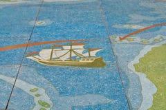 Christopher Columbus à la La Gomera Image stock