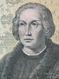 Christopher Columbus портрет стоковые изображения rf