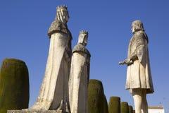 Christopher Columbus and the Catholic Kings Stock Photo