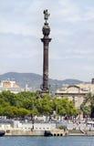 Christopher Columbus Colon - Barcelona Stock Image