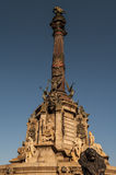 Christopher Columbus Column, Barcelona Stock Photo
