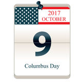 Christopher Columbus Day Stock Image