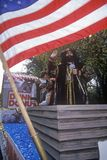 Christopher Columbus float, Columbus Day Parade, New York City, New York Stock Photography