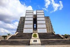 Christopher Columbus fyr i Santo Domingo Arkivfoto