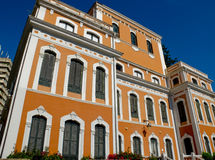 Christopher columbus house. Huelva, Spain. Royalty Free Stock Photo
