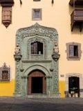 Christopher Columbus House Las Palmas de Gran Canaria Stock Photography