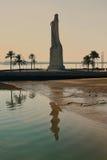 Christopher Columbus Huge Statue lizenzfreies stockfoto