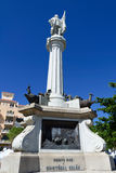 Christopher Columbus monument. Statue of Christopher Columbus, San Juan, Puerto Rico Stock Photography
