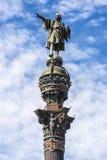 Christopher Columbus Monument, Barcelona Stock Photos