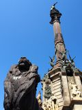 Christopher Columbus Monument, Barcelona Royalty Free Stock Image