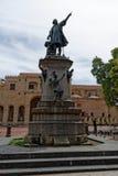 Christopher Columbus monument Stock Photo