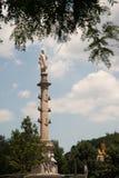 Christopher Columbus Monument - Columbus Circle Stock Photo
