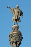 christopher Columbus posąg Fotografia Stock