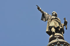 Christopher Columbus Statue Royalty Free Stock Photos