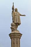 Christopher Columbus Statue Stock Images