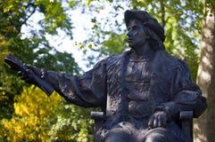 Christopher Columbus Statue em Londres Fotos de Stock Royalty Free