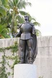 Christopher Columbus Statue in Florida/Miami, USA Royalty Free Stock Images