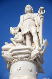 Christopher Columbus Statue Royalty Free Stock Photography