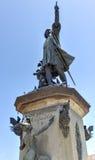 Christopher Columbus Statue, Parque Colon, Santo Domingo, Caribb Royalty Free Stock Photography