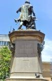 Christopher Columbus Statue, Parque Colon, Santo Domingo, Caribb Royalty Free Stock Photo