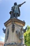 Christopher Columbus Statue, Parque Colon, Santo Domingo, Caribb Stock Images