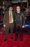 Christopher Coppola,Nicolas Cage. Actor NICOLAS CAGE & brother CHRISTOPHER COPPOLA at the world premiere, in Westwood, of his new movie Gone In 60 Seconds Stock Photo