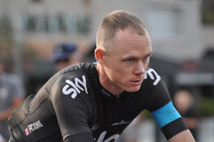 Christopher Froome, ciel d'équipe Image stock